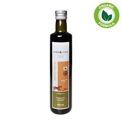 Aceite de Cáñamo orgánico vegano natural, un alimento rico en Omega 3-6