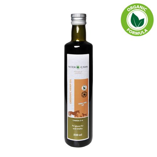 Aceite de semillas de Cannabis Cáñamo orgánico vegano natural